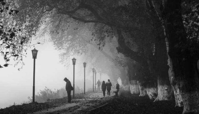 Mental Health, Alone Sad, Man, Stand, Street