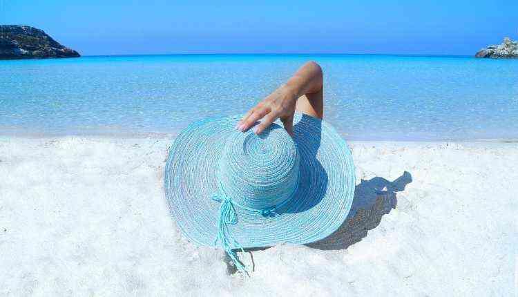 Sunshine, Beach, Sun Hat, Ocean Coast