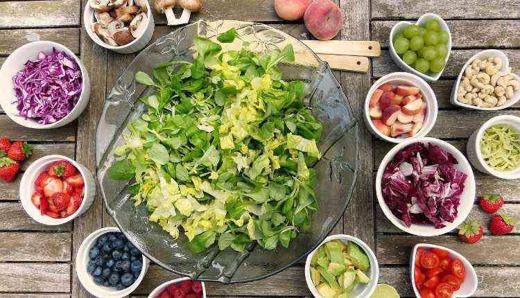 Balanced Dite, Fruits, Vegetables