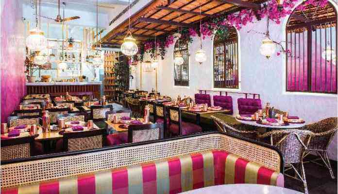 Birthday In Delhi, Jamun Restaurant