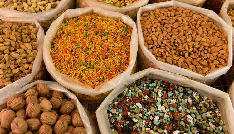 Chandni Chowk Market Dry Fruits