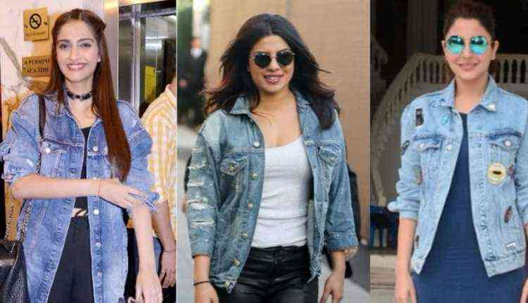 Denim jackets, Bollywood, actoresses