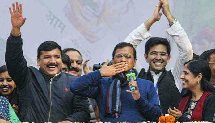 Aap, Election, Win, Arvind Kejriwal
