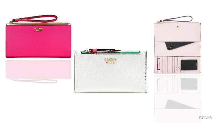 Colour Block Slim Wristlet Victorias Secret