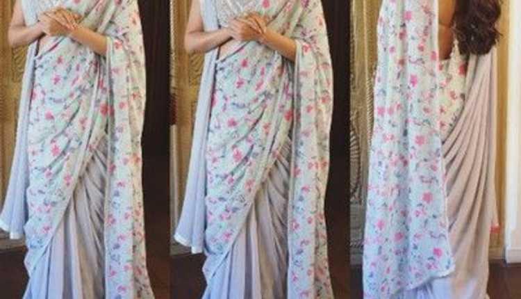 Double Pallu Style Saree