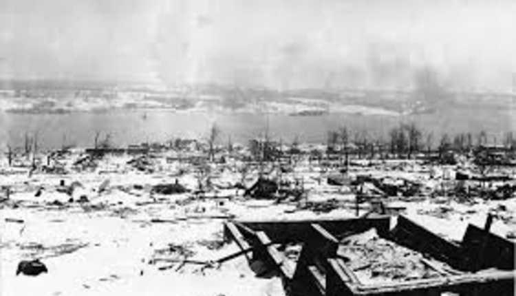 Halifax Explosion (1917) Canada