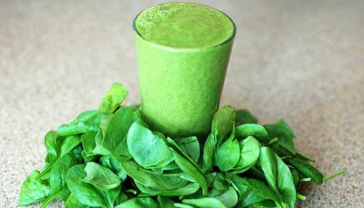 Spinach, Greem Glass, Juice, Leaf