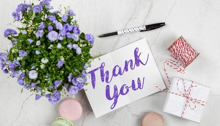 Write Thank You Notes