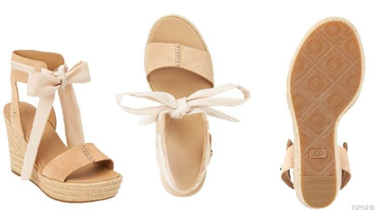 Victorias Secret Wittley Wedge Sandals