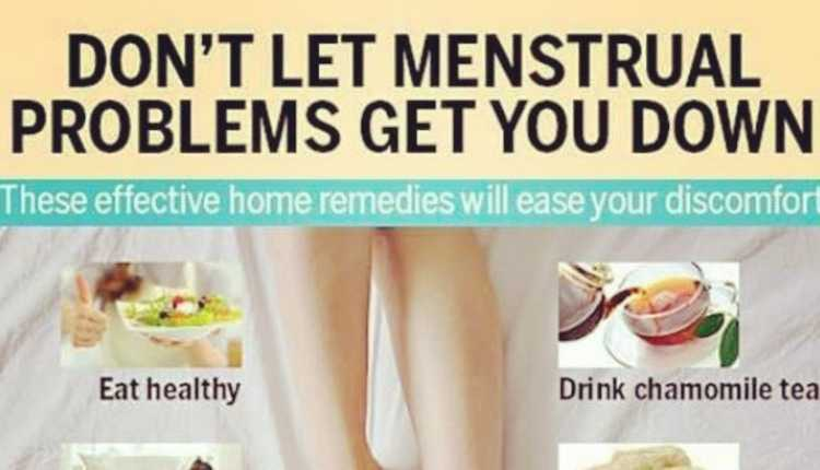 Don't let menstrual problems get you down
