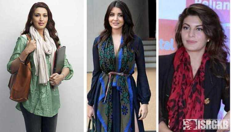 Scarves, Stoles Bollywood Actresses