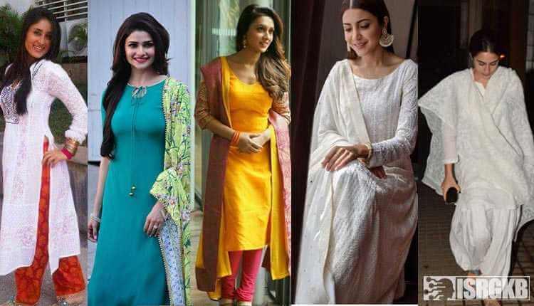 Bollywood Actress In Kurti With Simple Salwar