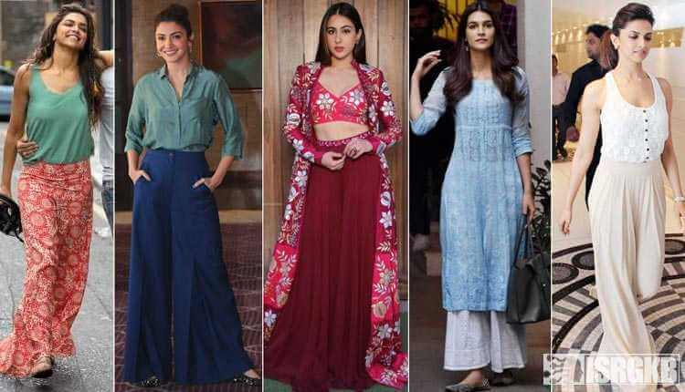 Bollywood Actresses In Plazo Pants