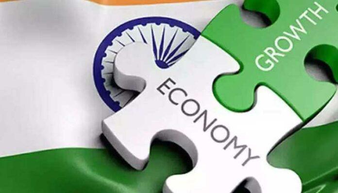 India, Economy, Growth, map