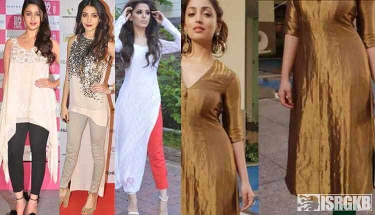 Kurti With Leggings, Bollywood Actress