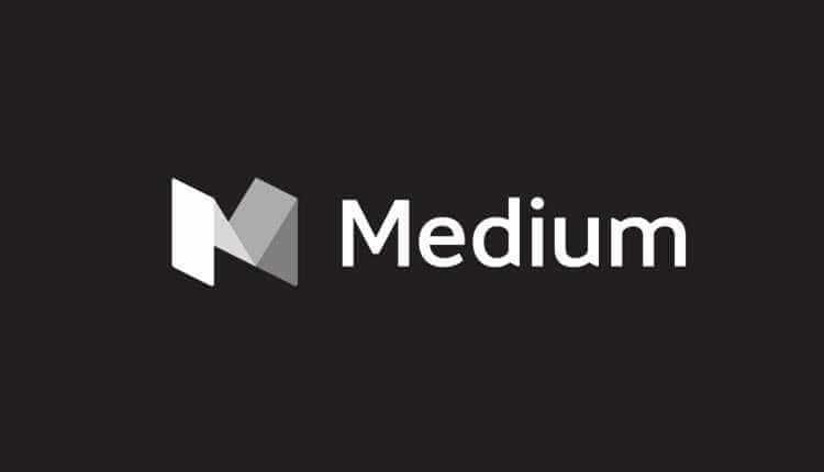 Medium, Blog, Website, News, Blogging, Logo, Banner