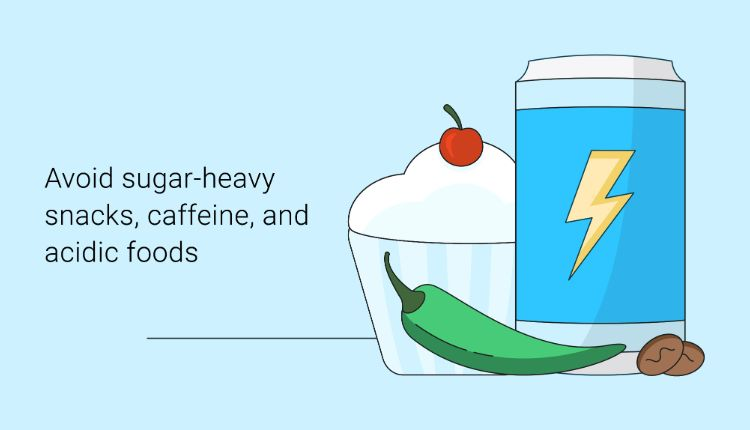avoid sugar foods