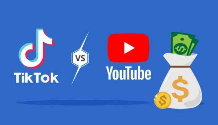 Tiktok Vs Youtube, Money, Trend, Followers