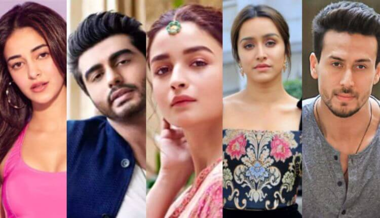 Arjun Kapoor, Sonam Kapoor, Alia Bhatt, Ananya Pandey, Tiger Shroff, Insider, Bollwood