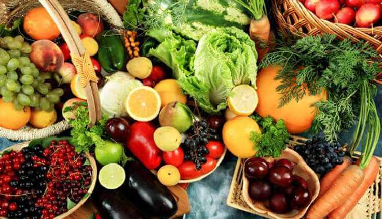 Eat Lots Of Fruits And Vegetables