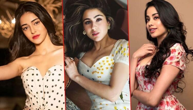 Janhvi Kapoor, Sara Ali Khan, Ananya Pandey, Bollywood