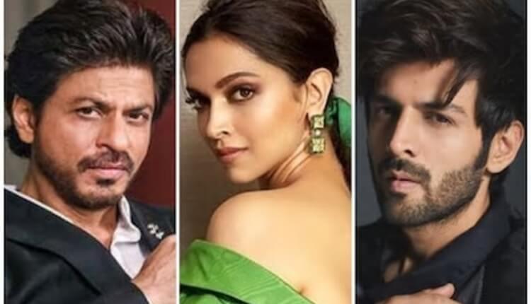 Kartik Aaryan, Shahrukh Khan, Deepika Padukone