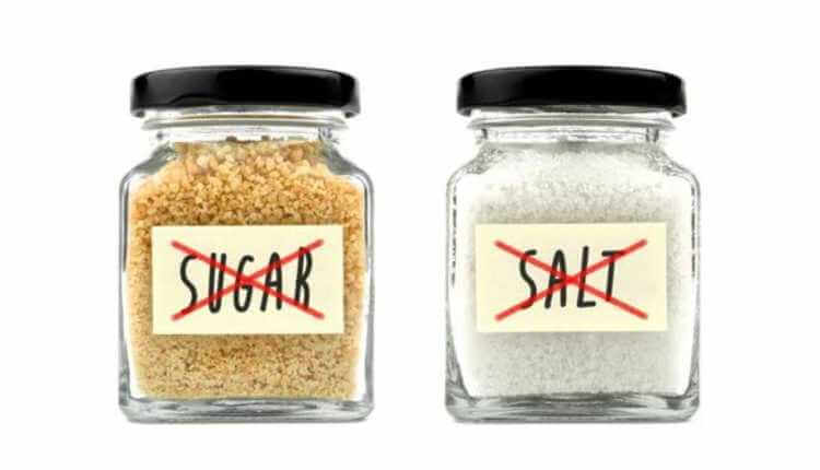 Say No To Saturated Fats, High Salts And Sugar