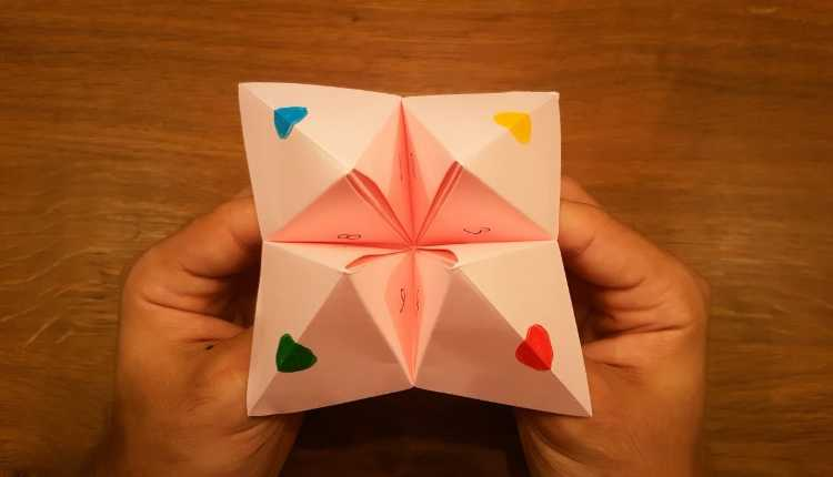 The Colored Paper Game