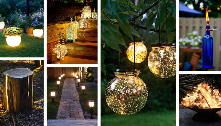 Fairy lights, candles