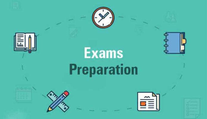 Exam Preparation Examination Preparation Test Schedule Planning