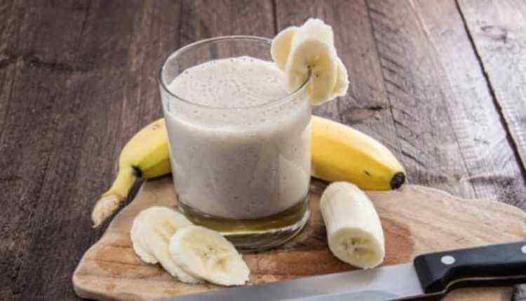 Milk, Banana, Banana Shake