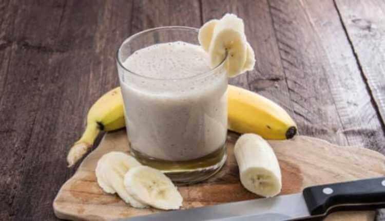 Milk, Banana, Banana Shake, Banana smoothie