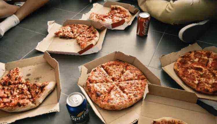 Pizza, Soda, Coke, Pepsi