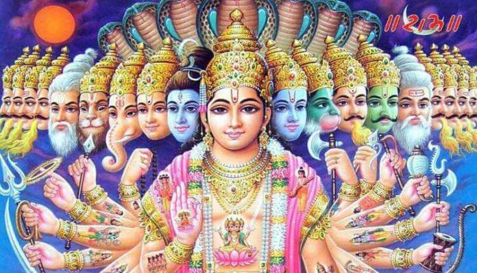 The 24 Avatars Of The Protector Lord Vishnu
