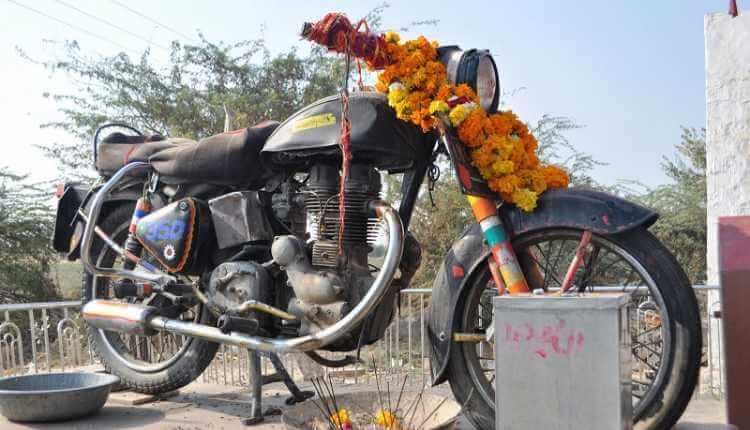 The Bullet Baba Temple, Bandai, Rajasthan