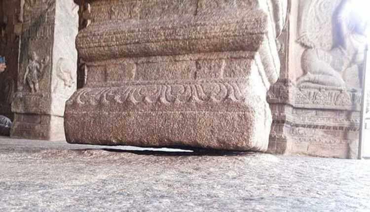 The Hanging Pillar In Andhra Pradesh