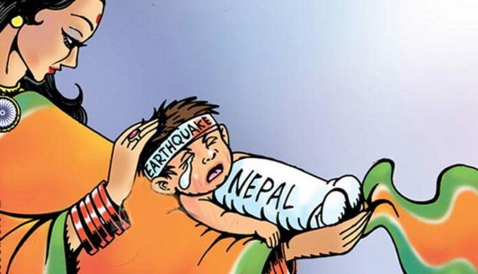 India, Bharat Mata, Nepal, Trade, Relations, Earthquake, Baby Min