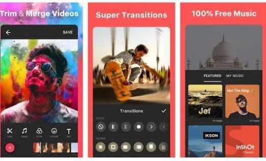 Inshot, Video Editor Video Maker,instagram