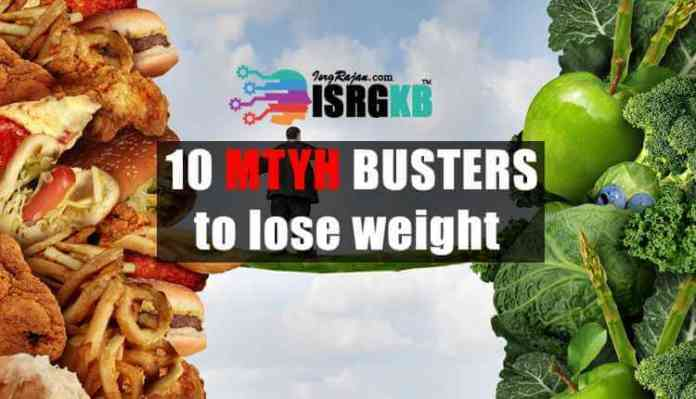 10 Mtyh Busters To Lose Weight