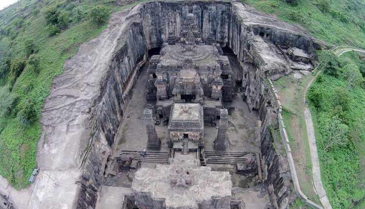 Cave 16, Kailasa Temple, ellora caves, ajanta caves, cave 16 of ajanta