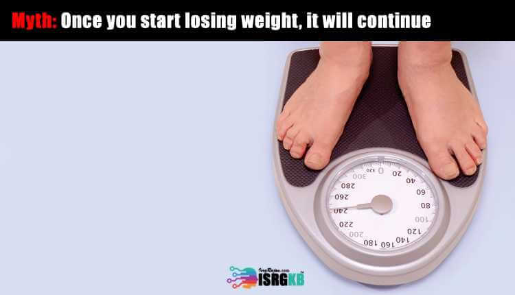 Once You Start Losing Weight, It Will Continue