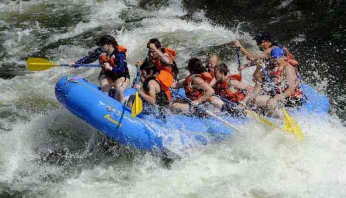 Adventure Sports Places In India, Rafting