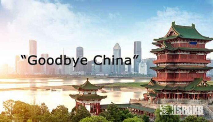 Goodbye China, Slogan, Economy, Covid 19