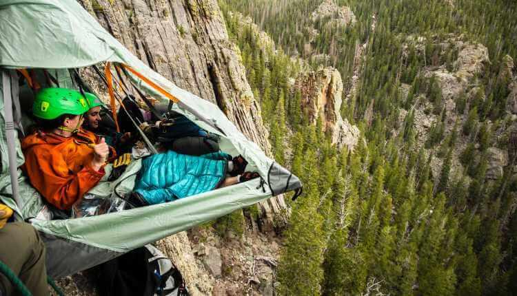 Rock Climbing, Camp, Camping