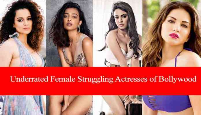 Underrated Female Struggling Actresses Of Bollywood