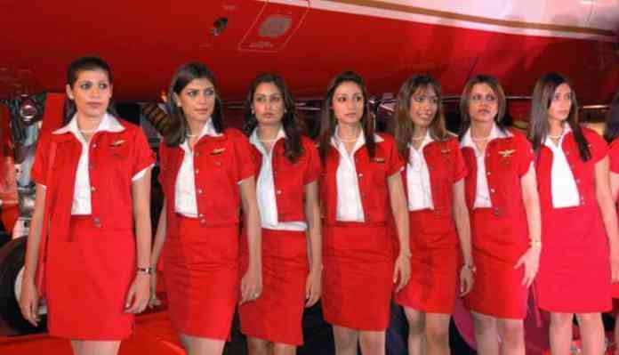 Jobs With A Good Salary For Women, Indian Air Hostess, Uniform
