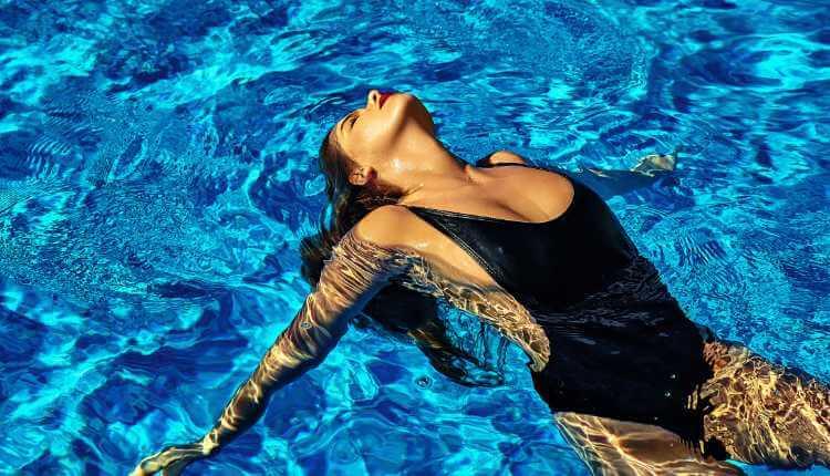 Swimming, Pool, Exercise, Girl, Model