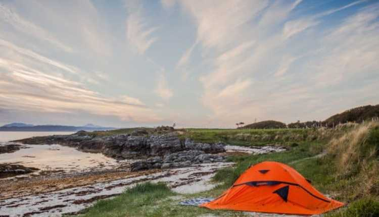 Camping Tents And Other Pieces Of Equipment