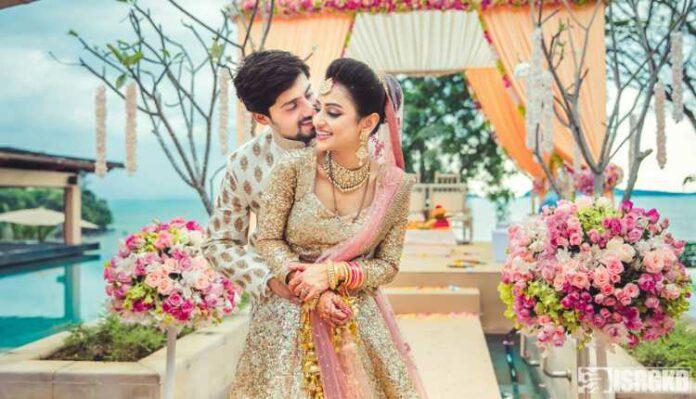 A beautiful couple on a destination wedding, Destination Wedding