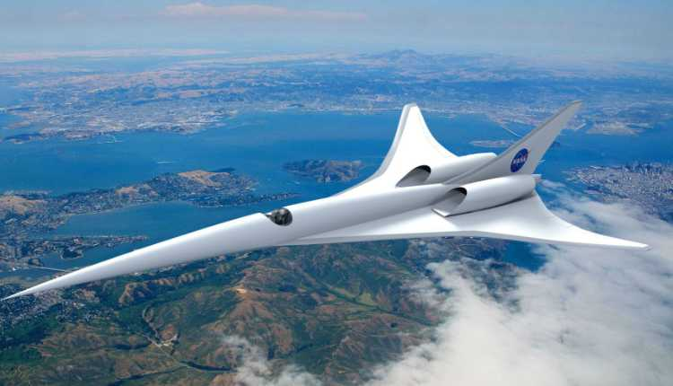 Electric Supersonic Planes